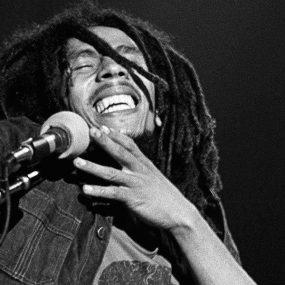 Bob Marley Rastaman Vibration tour 1976 credit Dennis Morris