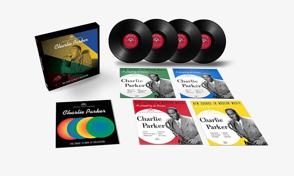 Charlie Parker Savoy 10 Inch box set packshot