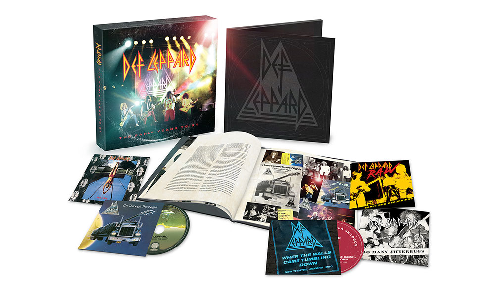 Def Leppard Early Years Box Set