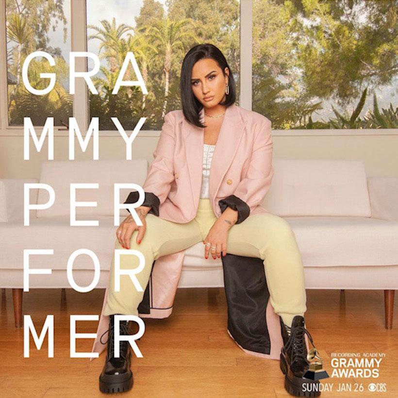 Demi Lovato Grammy Awards 2020