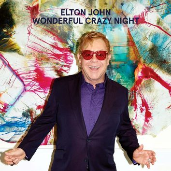 Elton John Wonderful Crazy Night album cover 820