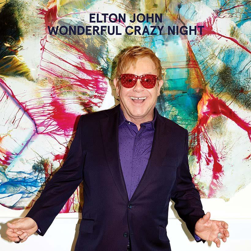 Elton John Wonderful Crazy Night album cover 820