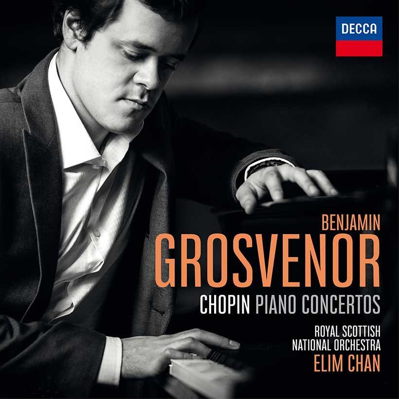 Benjamin Grosvenor Chopin Piano Concertos album cover