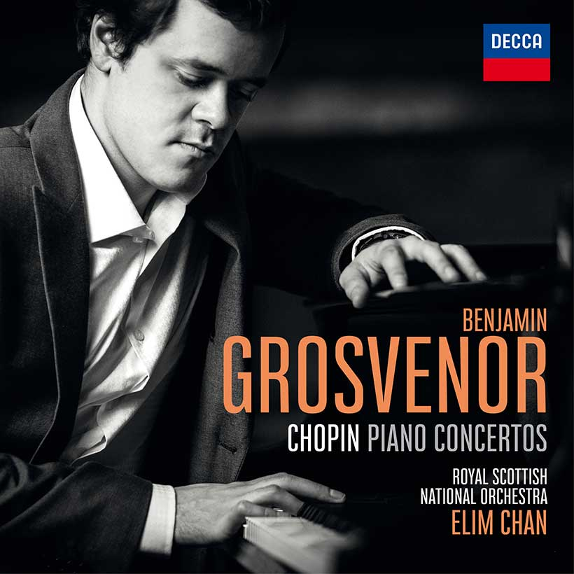 Benjamin Grosvenor Chopin Piano Concertos album cover