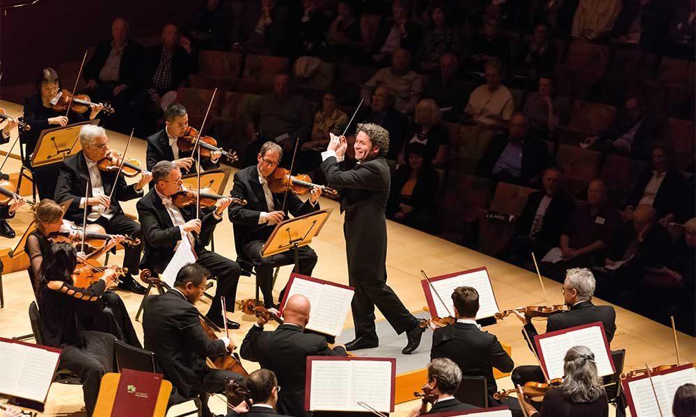 Gustavo Dudamel Los Angeles Philharmonic photo