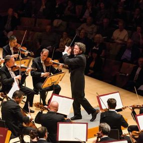 Gustavo Dudamel Los Angeles Philharmonic photo