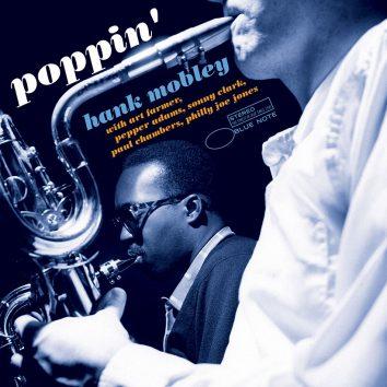 Hank Mobley Poppin Tone Poet album cover 820