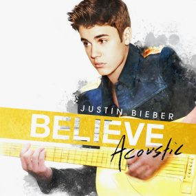 Justin Bieber Believe Acoustic album cover 820