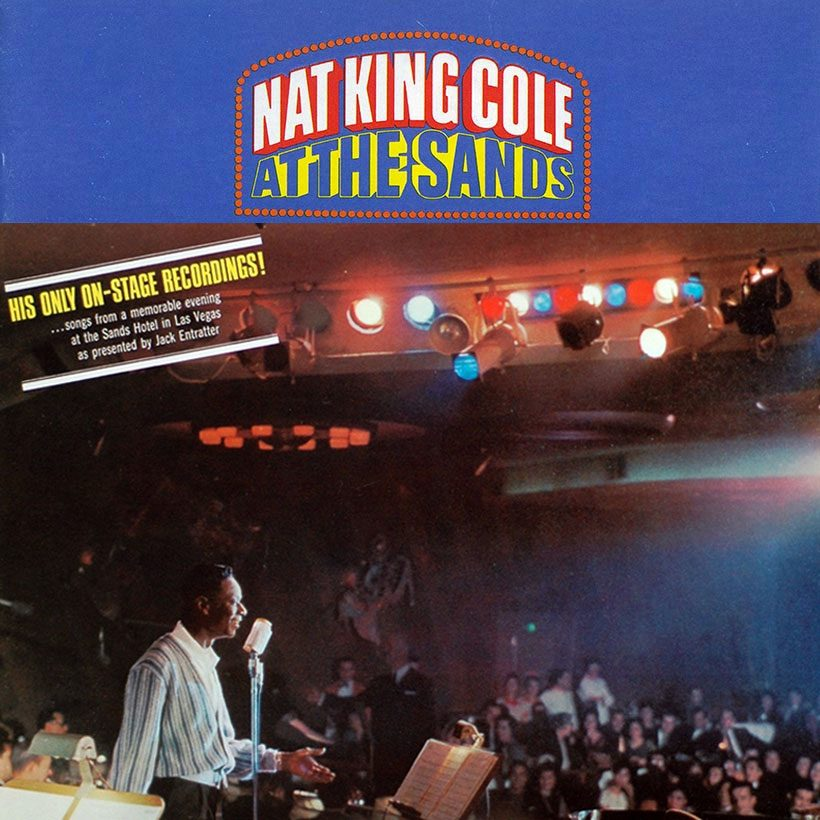 Nat King Cole At The Sands album cover 820 new