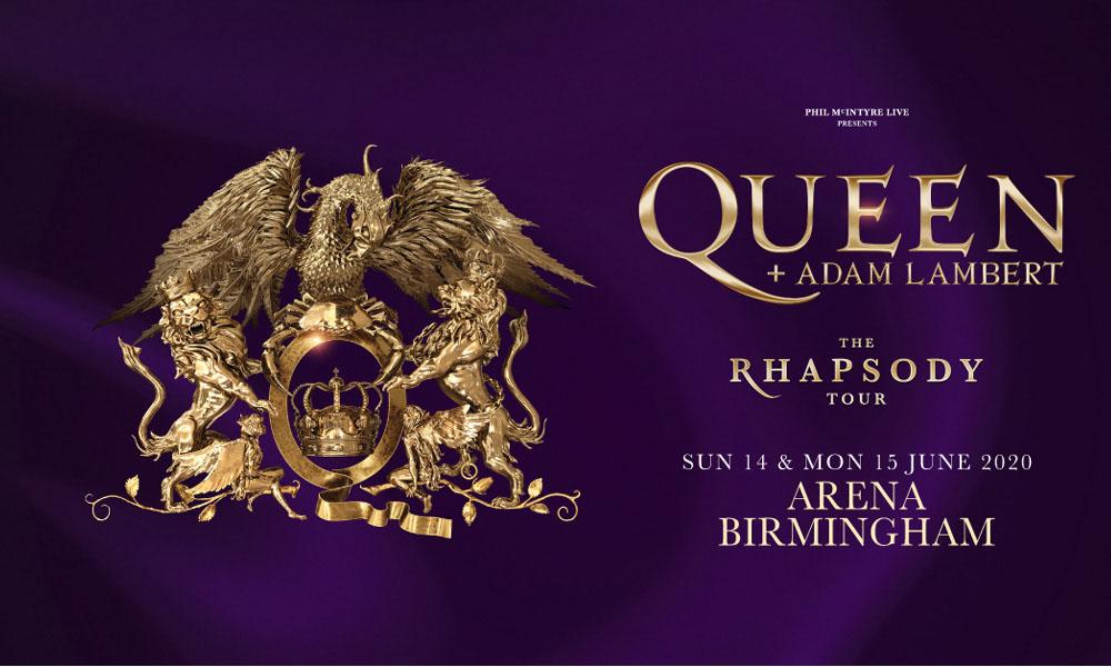 Queen + Adam Lambert Add Two Birmingham Shows