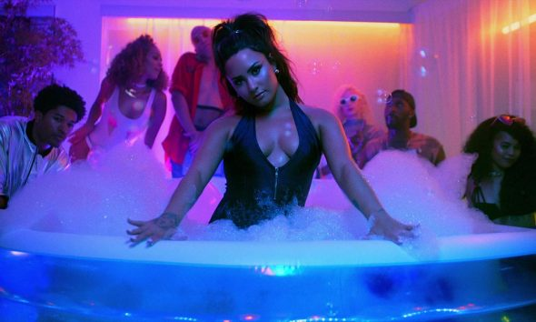 Sorry Not Sorry video screengrab 1000