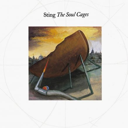 Sting The Soul Cages album cover 820