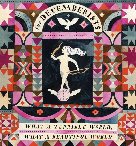 The Decemberists What A Terrible World What A Beautiful World album cover 820