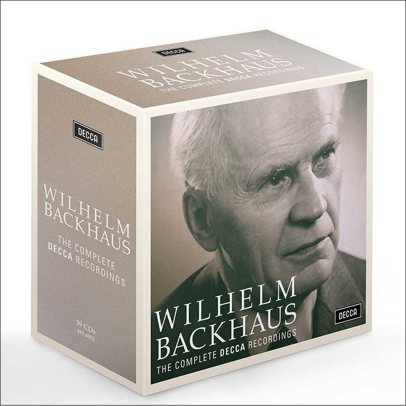 Wilhelm Backhaus The Complete Decca Recordings cover