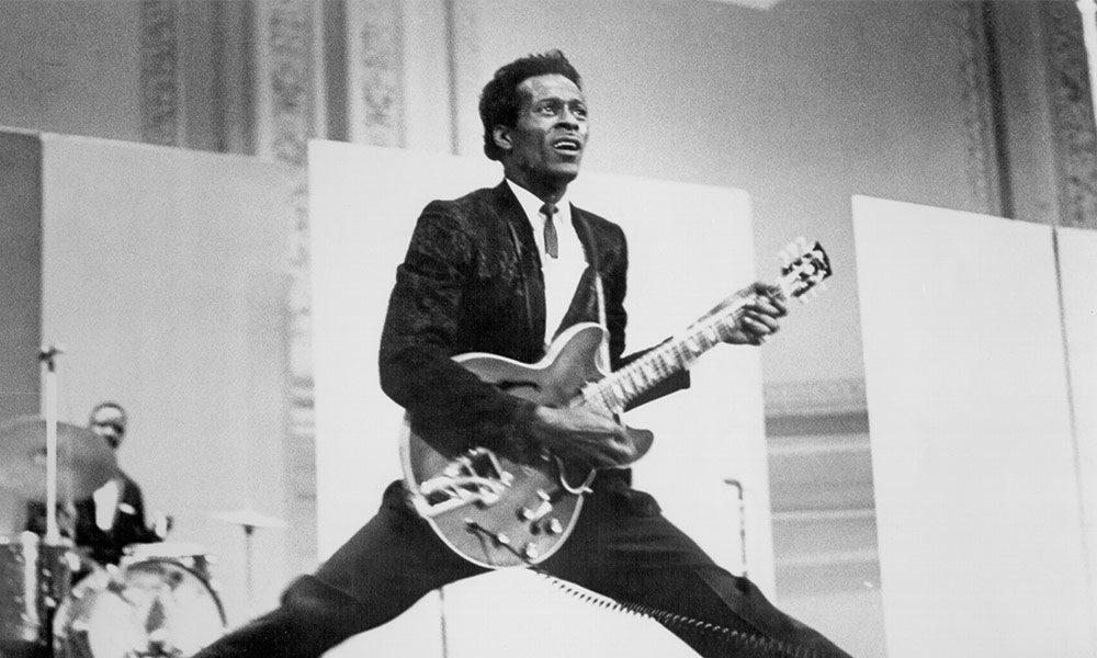 Photo of Chuck Berry by Michael Ochs
