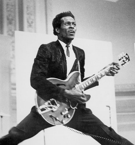 Photo of Chuck Berry by Michael Ochs