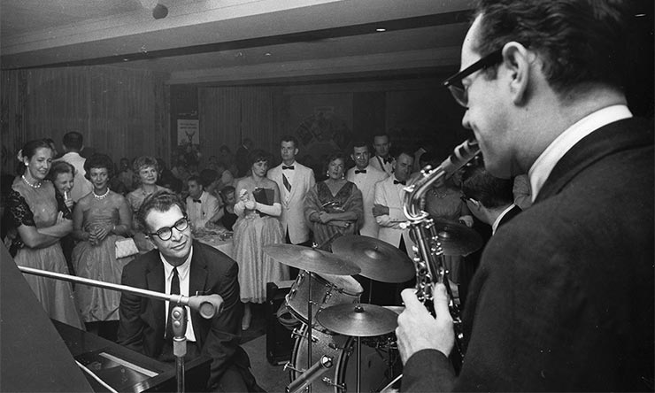 Dave Brubeck Live At Wisconsin Club 1961 740 CREDIT John Bolger Collection