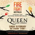 Queen + Adam Lambert To Reprise Iconic 1985 Live Aid Set For Fire Fight Australia Concert