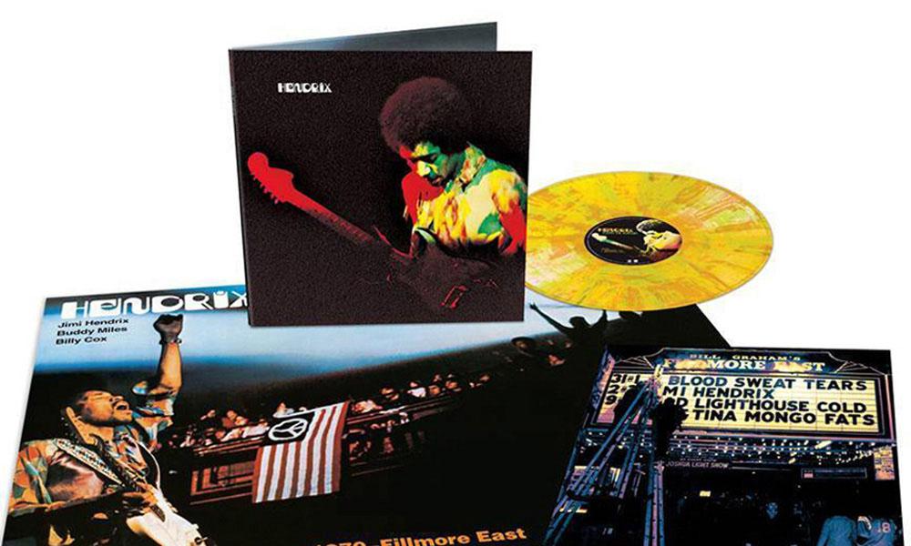 Jimi Hendrix Band Of Gypsys Vinyl Remaster