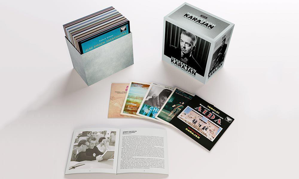 Herbert von Karajan The Complete Decca Recordings packshot