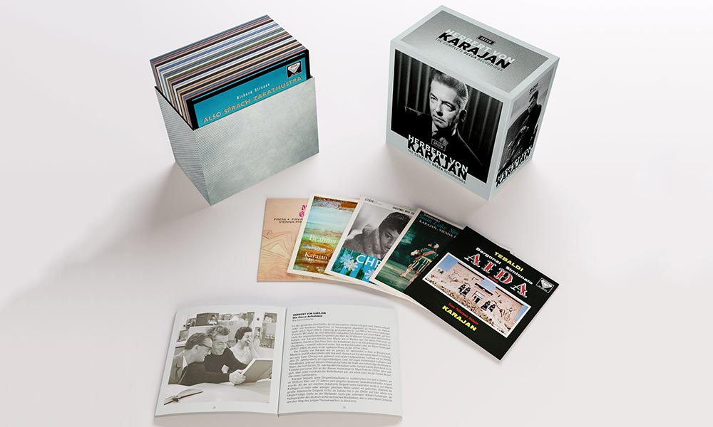 Herbert von Karajan The Complete Decca Recordings packshot