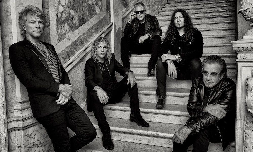 Bon Jovi 2020 press Island Records