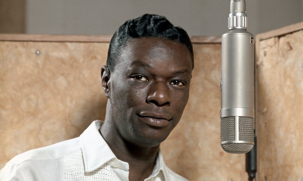Nat King Cole studio colour Capitol Records Archives