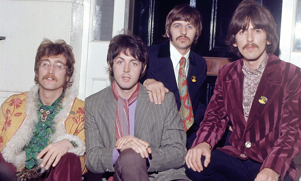 The Beatles photo by Jeff Hochberg and Getty Images