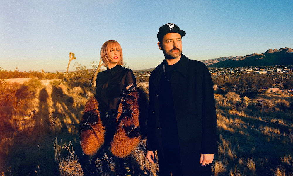 Phantogram Ceremony Press Photo - Shervin Lainez