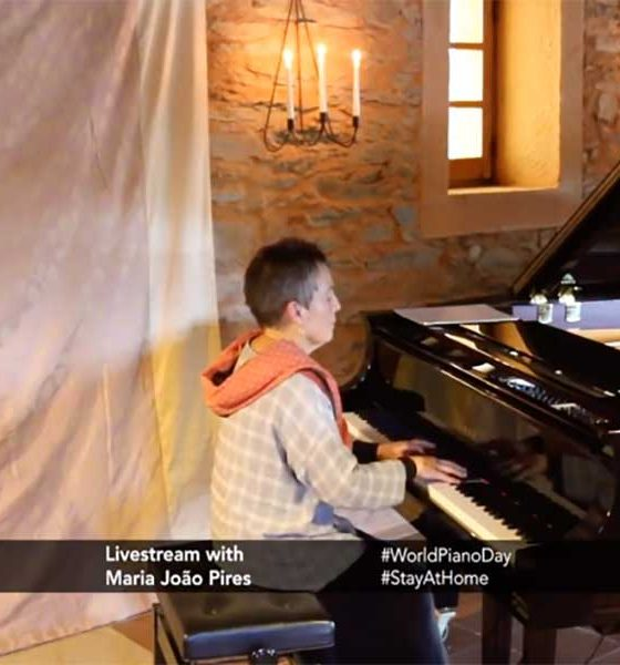 World Piano Day livestream - image of Maria Joao Pires