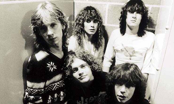 Def Leppard early years press shot 02 740 CREDIT Ross Halfin