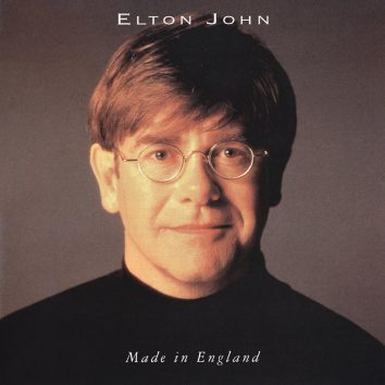 Elton John Made In England album cover 820