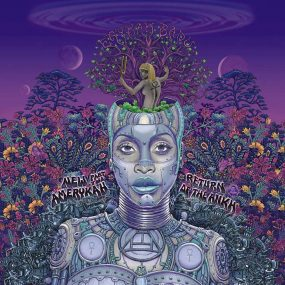 Erykah Badu New Amerykah Part Two album cover