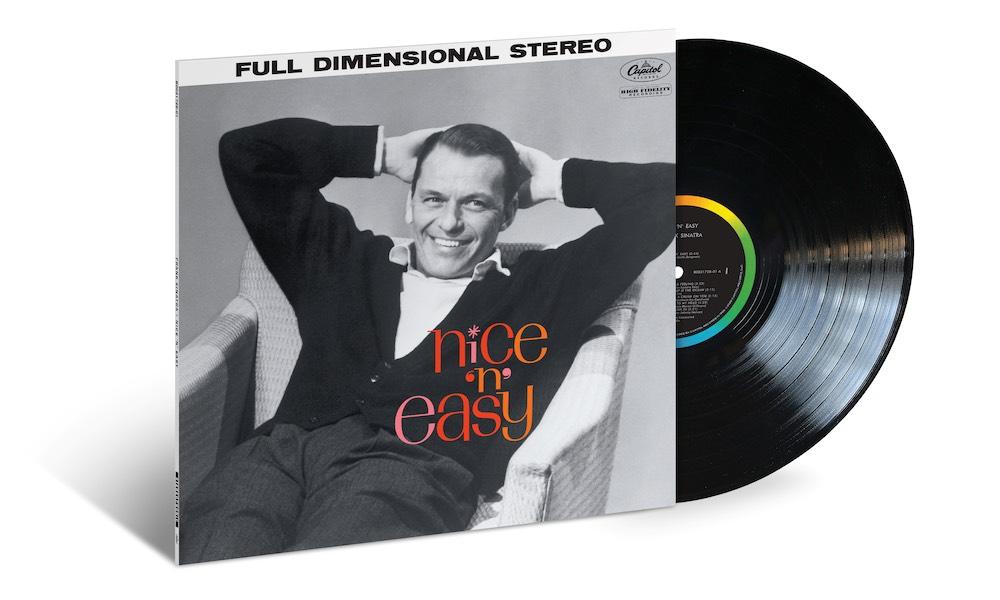 Frank Sinatra Nice n Easy packshot