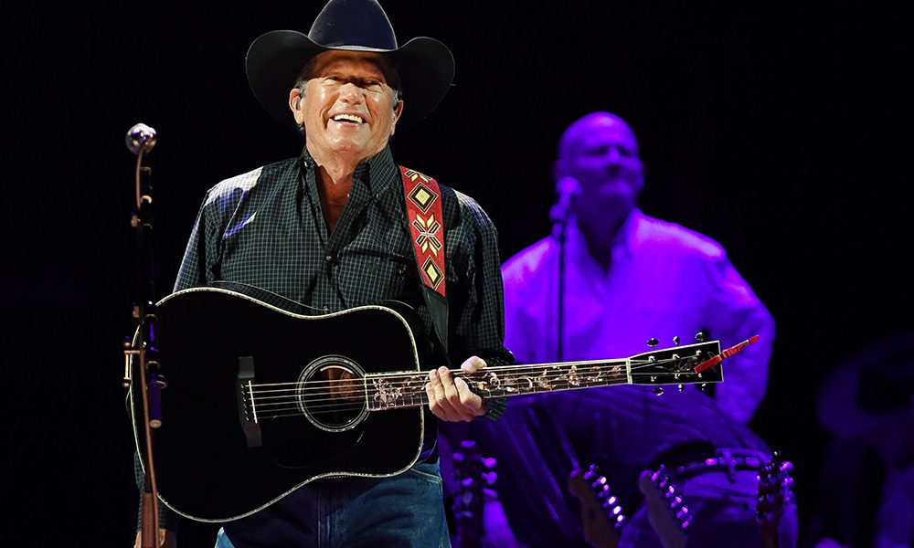 George Strait photo by Ethan Miller/Getty Images for Essential Broadcast Media