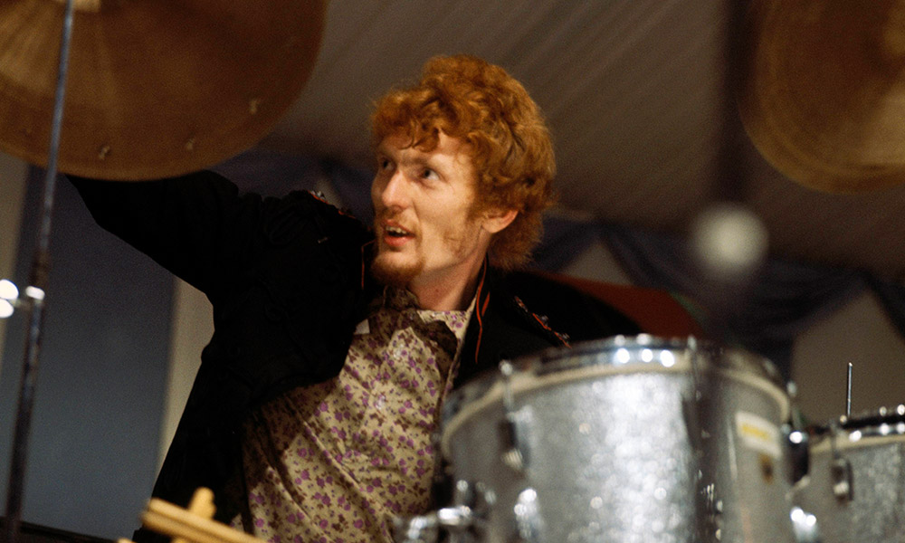 Ginger Baker photo by David Redfern/Redferns