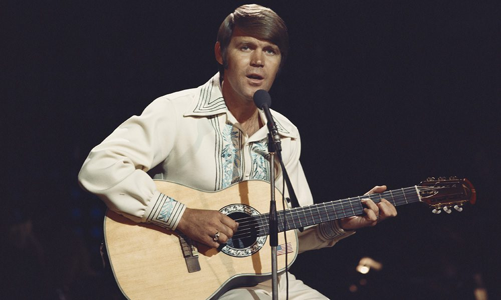 Glen Campbell photo by Tony Russell/Redferns/Getty Images