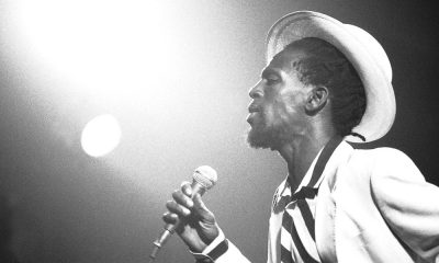 Gregory Isaacs photo by David Corio/Redferns
