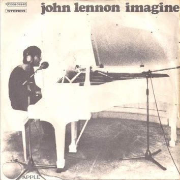 John Lennon Imagine single