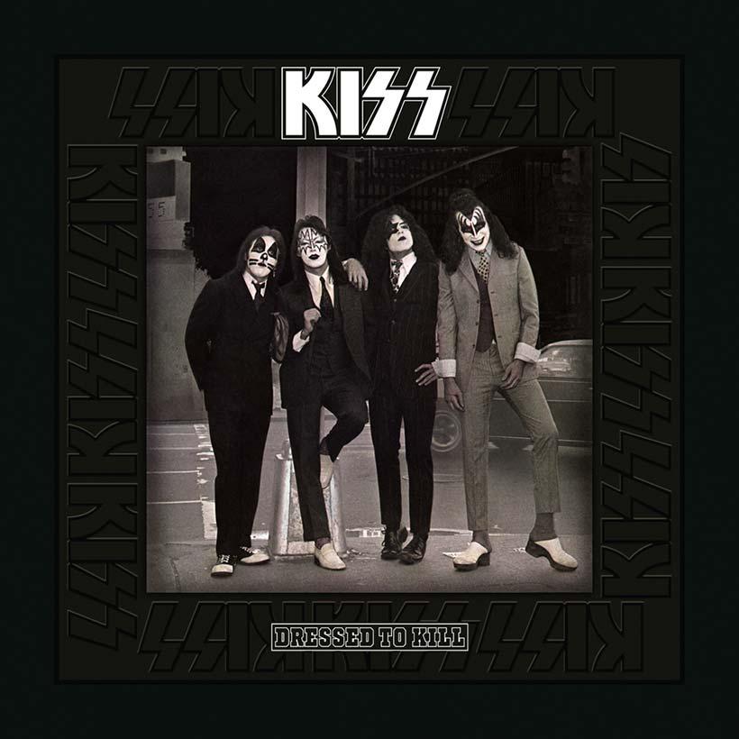 KISS dressed to kill album cover 820