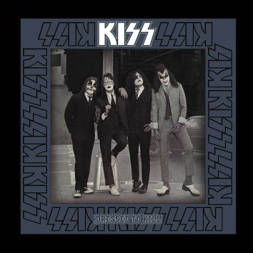 Kiss Dressed To Kill Cover