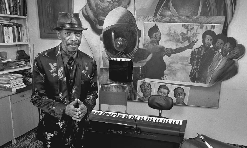 Ornette Coleman 2005 photo 1000 CREDIT Jimmy Katz, reproduced by kind permission
