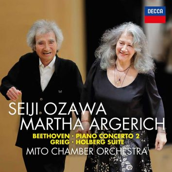 Seiji Ozawa Martha Argerich Beethoven Grieg cover