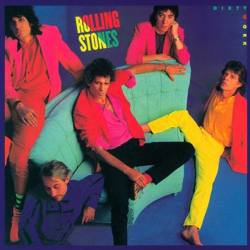 The Rolling Stones Dirty Work album cover 820
