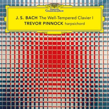 Trevor Pinnock Well-Tempered Clavier cover