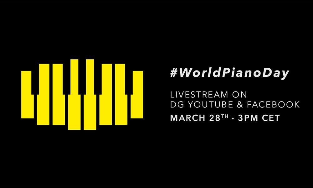 Deutsche Grammophon World Piano Day livestream image