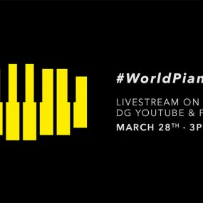 Deutsche Grammophon World Piano Day livestream image