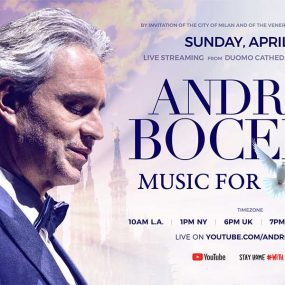 Andrea Bocelli livestream Duomo Milan featured image