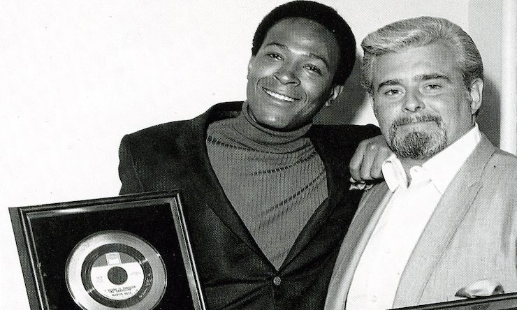 Marvin Gaye and Barney Ales Motown Records Archives