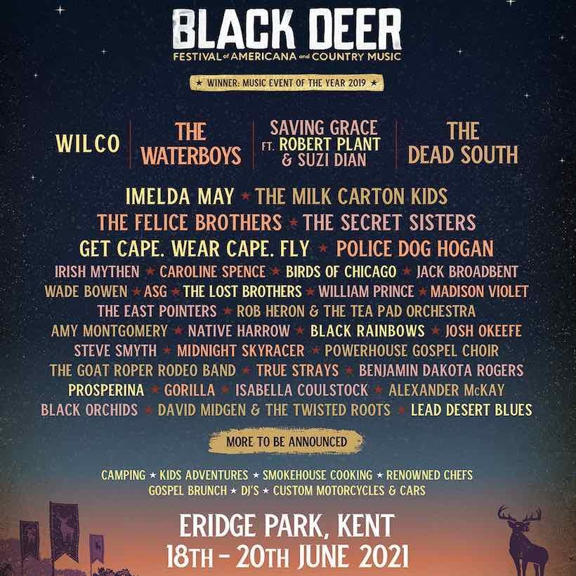 Black Deer Festival 2021 poster